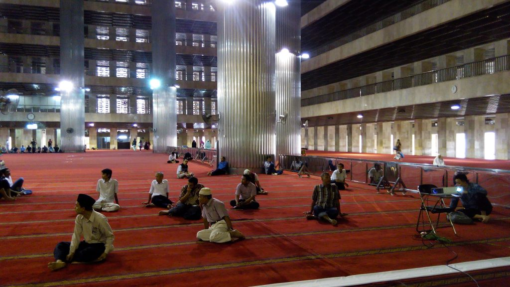 Ceramah Waris Di Masjid Istiqlal Jakarta