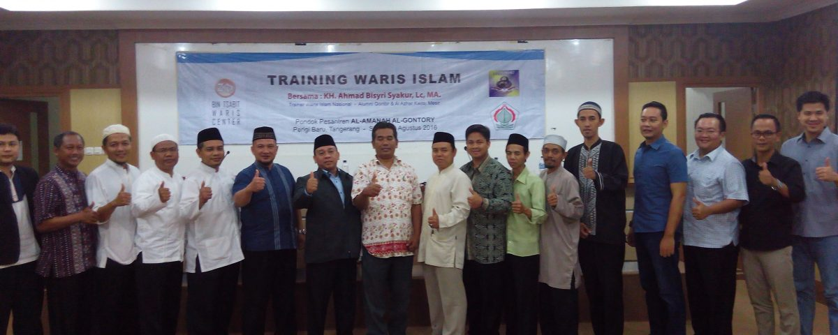 Training Waris Algontory
