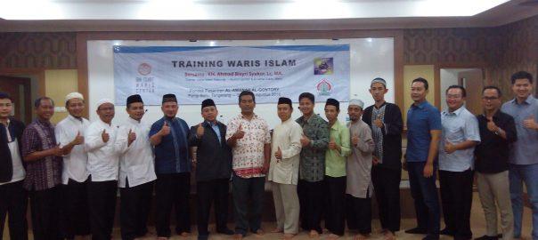 Training Waris Algontory