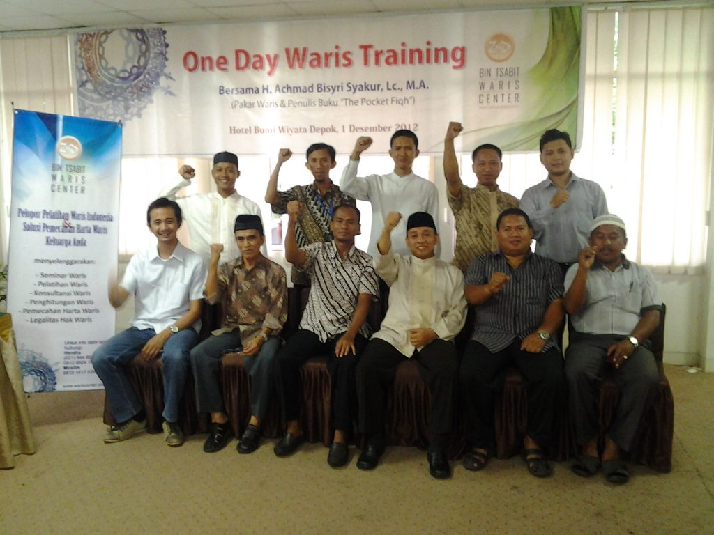one day waris training at hotel bumiwiyata