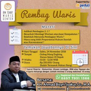 Event Rembug Waris