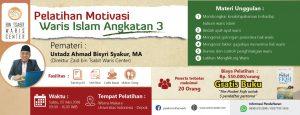 Update Peserta Pelatihan Motivasi Waris Islam 3